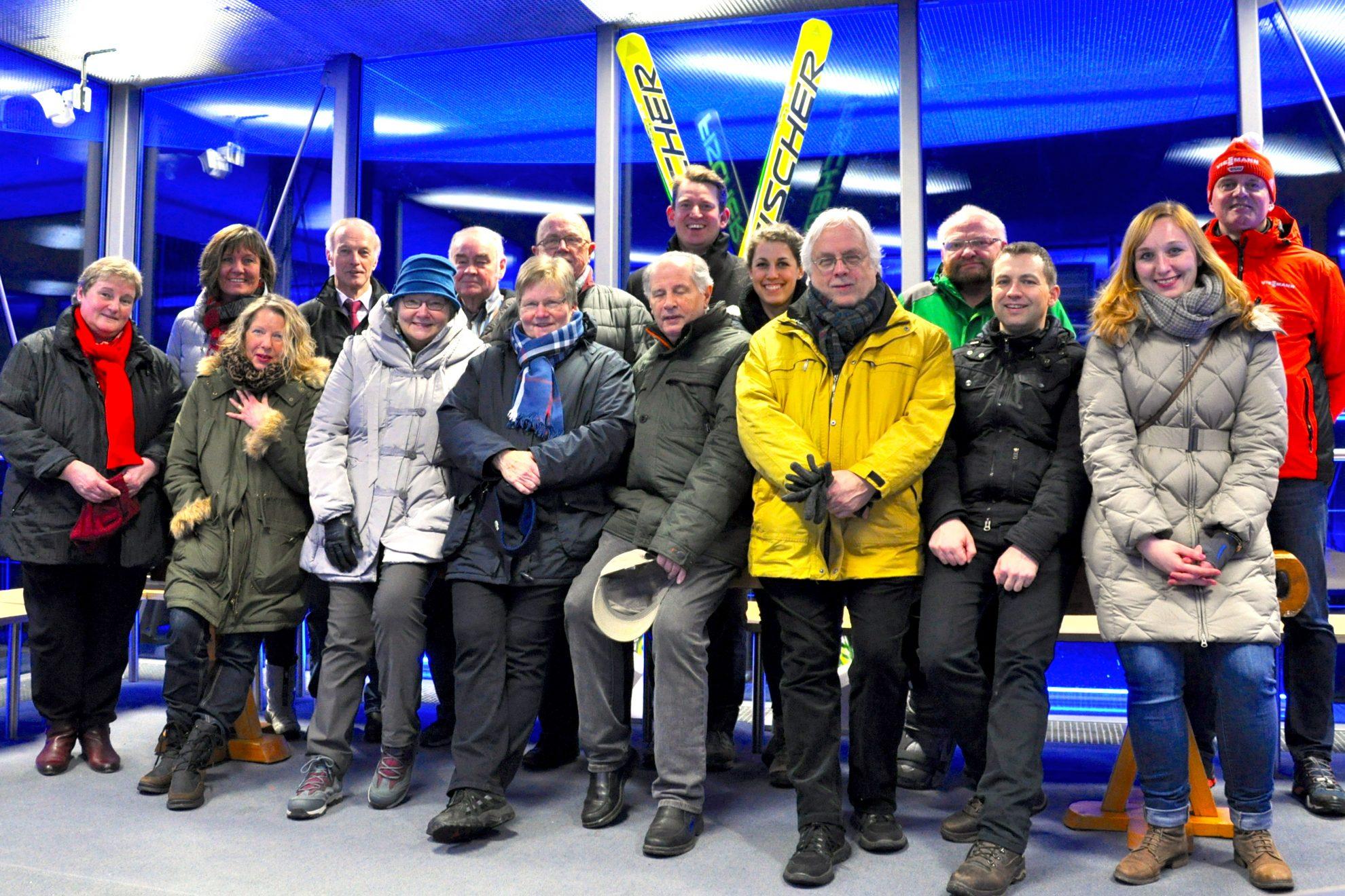 Besuch Skiclub Willingen